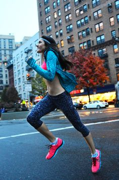 Adorable run look from @NYCPRETTY (Christine Bibbo Herr)!