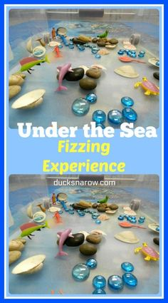 Letter U is for Under the Sea Fizzing Sensory Activity for Preschool - 2020 - Ducks 'n a Row - NEELE Rainbow Fish Activities, Sea Activities, Letter Activities, Kindergarten Activities, Pirate Activities, Disney Activities, Classroom Activities, Preschool Science, Preschool Crafts