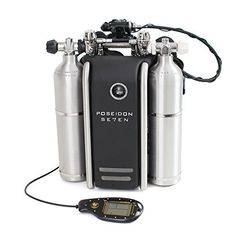The Poseidon Rebreather is a fully closed-circuit, automated rebreather (eCCR) that will allow you to have a very different and improved diving experience.
