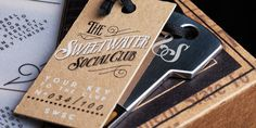 Sweetwater Social Club - prohibition era inspired packaging