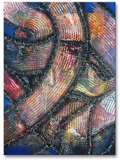 "Title: ""Unplanned Nr.24"" .  Size: 27.6''X19.7 '' , (70Xcm50) .  Medium: acrylic on canvas .  Year: 2014 .  © art of Ioannis Tsaousidis"