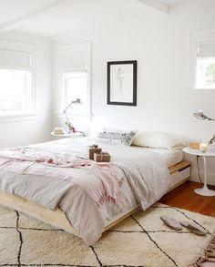 Wood + White : Blanco y madera, combinación ganadora | Loving Living