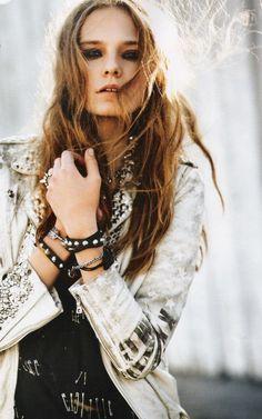 rock, style, rock style, girl