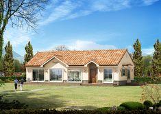 #10월호④-'그림 같은 풍경에 앉다' 32평 전원주택 Home Projects, Architecture Design, Farmhouse, Construction, Cabin, Mansions, House Styles, Building, Home Decor