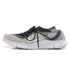 Nike Free Flyknit 5.0 Couples shoes gray / Black $88