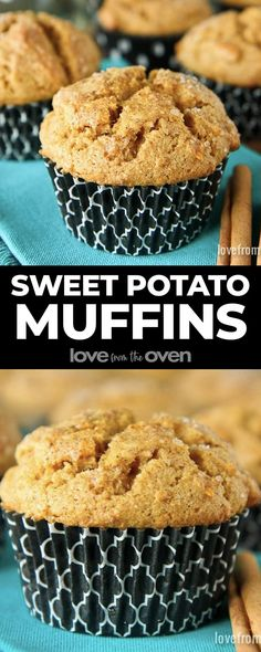 Quick and easy Sweet Potato Muffins recipe