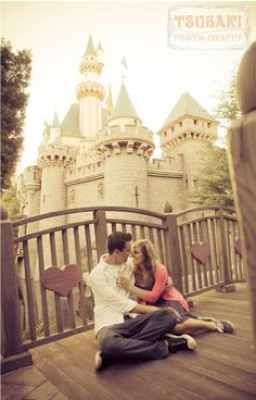 The Disney Wedding Blog: Disneyland Engagement: Becca + Mike