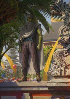Piccolo  DragonBall by dengjing.deviantart.com on @DeviantArt