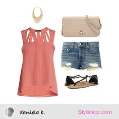 Adorable summer outfit!!