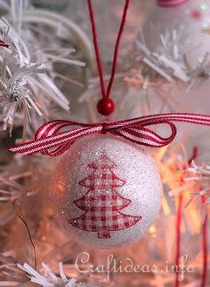 Decoupage Christmas Ornament 3. This is a wonderful tutorial and I think it would be fun to do with children of all ages. TFS.