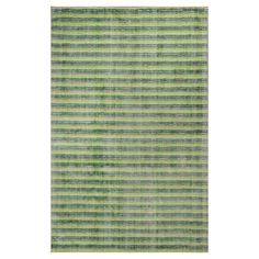 Kas Rugs Subtle Stripe Green/Ivory 5 ft. x 8 ft. Area Rug-TRA33225X8 - The Home Depot