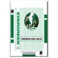 Evergreen 2 cu ft Hardwood Bark Mulch, wish list $2.75