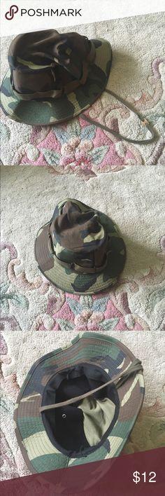 Camo bucket hat Camo bucket hat Accessories Hats