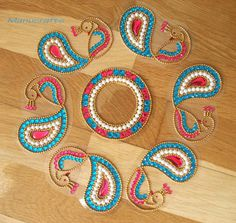 Reusable Rangoli/ Christmas Table Decoration/ Wedding Table Decoration/Indian wedding Decoration/ Diwali Decoration/ Peacock Rangoli