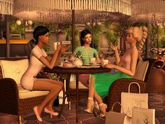 Sims2City: In Cafe. Posebox
