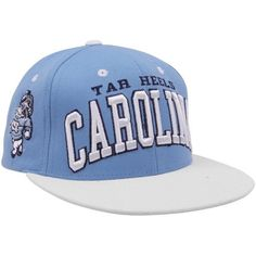 16d20606 Zephyr North Carolina Tar Heels (UNC) Carolina Blue-White Superstar Snapback  Adjustable Hat