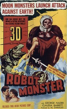 Robot Monster! #movie #posters #scifi