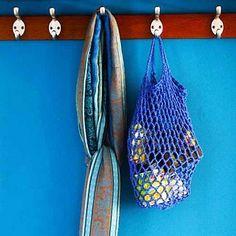 Crochet Grocery Bag Pattern - FREE