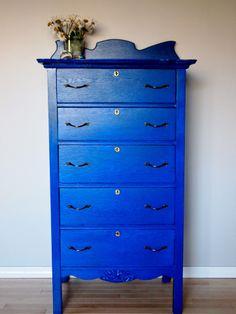Blue Dresser After