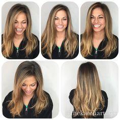 "#balayage Kate Hartnett Nashville Hair (@thekatehartnett) on Instagram: ""Fun with the Diva Light, I Can never get @lexieorcutt to stand still!! ❤Such a wonderful hair…"""