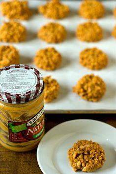 No-Bake Peanut Butter Butterscotch Crisp Cookies
