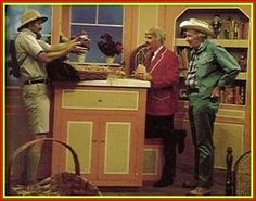 Captain Kangaroo and Mr Green Jeans!  Anyone else remember this oldie?