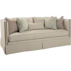 Southwood // Transitional Tuxedo Sofa