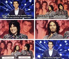 The Big Fat Quiz, Jimmy Carr, Noel Fielding, Russell Brand You Funny, Funny People, Funny Cute, Hilarious, British Sitcoms, British Comedy, 8 Out Of 10 Cats, Mock The Week, Jimmy Carr