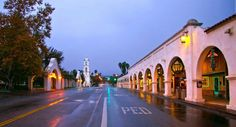 Ojai downtown after the rain  by jaimee Toroo-Vize