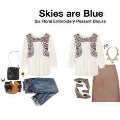 like the peasant blouse