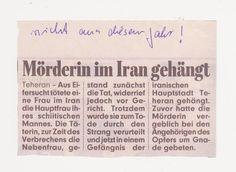 was sagt man dazu? Besser nichts, früher hängte man auch in Deutschland!