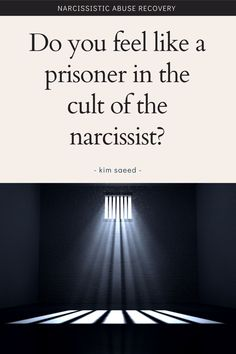 Dealing with a narcissist? Narcissistic people are a lot like cult leaders. Here's how.