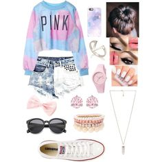 Untitled #8 by fashionismykryptonitebz on Polyvore featuring polyvore, fashion, style, Boohoo, Converse, Amber Sceats, Ice-Watch, Swarovski and Lipsy