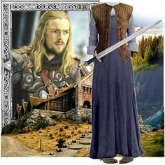 A Date with Eomer by ltspork on Polyvore featuring Jessica Simpson