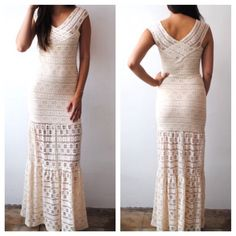 NIGHTCAP CLOTHING Maxi Dress Formal Wedding Prom Available Sizes: XS, S, M, L. New With Tags.  $627 Retail + Tax.  Gorgeous white lace maxi dress gown with Bralette style mini dress lining and flared raw hem. Form-fitting, comfortable and stretchy.   Cotton, nylon, elastane.  Made in the USA.    ❗️ No trades or holds.    Bundle 2+ items for a 20% discount!    Stop by my closet for even more items from this brand!  ✔️ Items are priced to sell, however reasonable offers will be considered when…