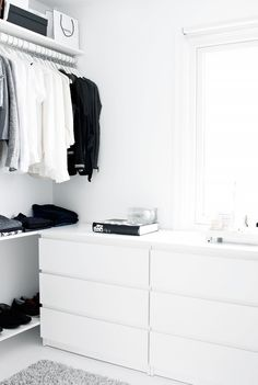 11 Closet Ideas for the Minimalist Girl via @WhoWhatWearUK