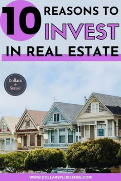 There are so many amazing reasons to invest in real estate. In this article, I will show you the top 10 reasons you should invest in real estate. Real estate is a great investment that can help build true wealth over time. Consider making real estate a part of your investment portfolio if you hope to reach financial freedom in the future Read my top reasons for investing in real estate. Investing In Stocks, Investing Money, Real Estate Investing, Money Tips, Money Saving Tips, Earn Money From Home, How To Make Money, Best Online Jobs, Financial Organization