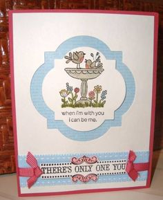I Can Be Me! by ruby-heartedmom - Cards and Paper Crafts at Splitcoaststampers