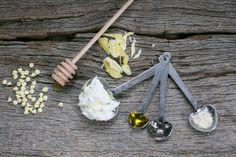 Homemade Honey Lip Balm and Scrub   DIY Treatments for Chapped Lips | http://hellonatural.co/honey-lip-balm-lip-scrub/