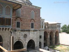 interior Courtyard of the Favorites, Topkapi Palace Harem.