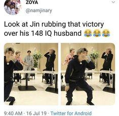 ik joonie is cropped out but hopefully yoongis reaction makes up for it🤧 Bts Memes Hilarious, Bts Funny Videos, Bts Jin, Bts Bangtan Boy, K Pop, Bts Tweet, Bts Quotes, I Love Bts, About Bts