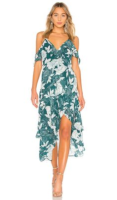 3cb2d3f42ba1 Floral Party Dress in Statement Floral Resort Wear