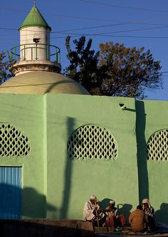 mosque, Harar, Ethiopia ~  UNESCO World Heritage Site.  Photo: Eric Lafforgue, via Flickr