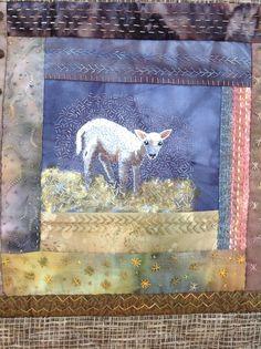 Sheep quilt detail