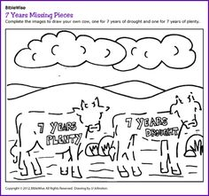 7 Years Missing Pieces (Joseph, puzzle) - Kids Korner - BibleWise