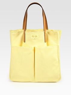 Anya Hindmarch Nevis Canvas Tote Bag