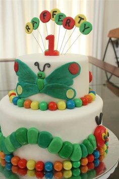 The Very Hungry Caterpillar Cake by Kates Cakes 'n' Cookies