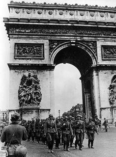 German soldiers in occupied Paris.
