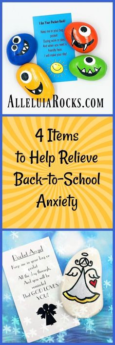 Back-to-school anxiety is almost more traumatic for a parent than for a child. Often the anxiety passes (for both parent and child), but in the meantime any strategy you can employ to relieve that trauma is a blessing! That is why I offer 4 ITEMS THAT HELP REDUCE ANXIETY for kids. CLICK THROUGH to my blog to read more about the 4 items! #pocketrocks #pocketangels #worrystones #backtoschoolanxiety #lunchboxcards #schoolanxiety #lunchboxnotes #printablelunchboxnotesfree Painted Rocks Kids, Painted Stones, Pocket Pal, Standard Image, Story Starters, Early Literacy, A Blessing, Printable Cards