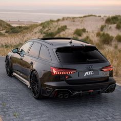 Audi A6 Rs, Audi Rs6, Super Sport Cars, Super Cars, Audi Wagon, Sports Wagon, Luxury Sports Cars, Hot Rides, Cars And Motorcycles